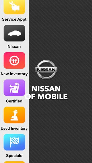 Nissan of Mobile Dealer App