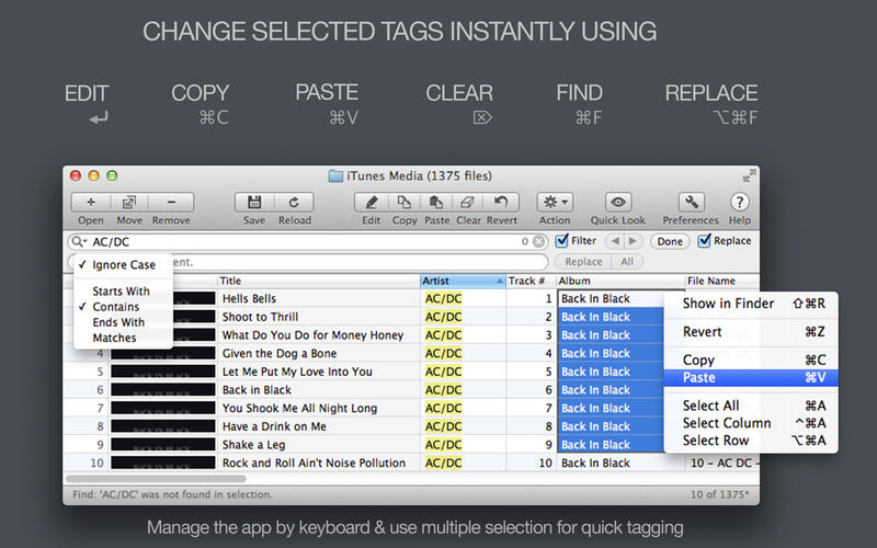 Tag Editor Screenshot - 3