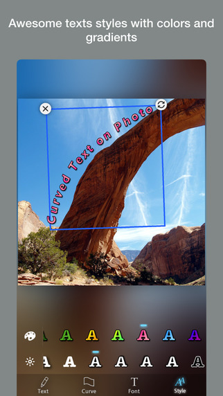 Curvegram - Curved Text for Instagram Screenshots