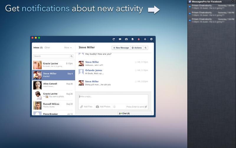 MessagePro for Facebook Screenshot - 2