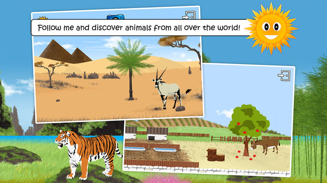 Find Them All: looking for animals free version - Educational game for kids - Down on the farm and w