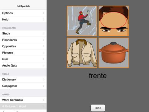 h4 Spanish iPad Screenshot 3