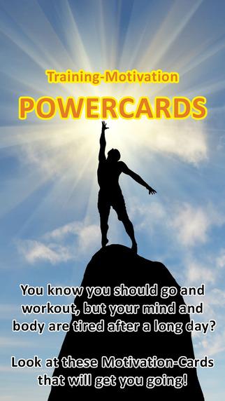Training Motivation POWERCARDS