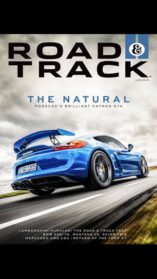 Road Track Magazine US