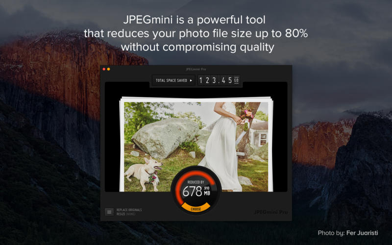 JPEGmini Screenshot