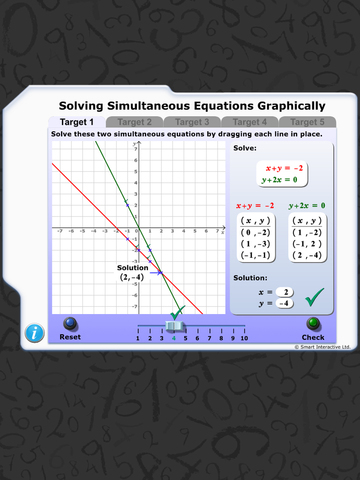 Maths Workout - Simultaneous Equations