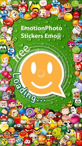 Stickers Emoji 3 for Messenger - Message WhatsApp WeChat Line Mail Facebook SMS KaKaoTalk QQ Kik Twi