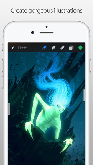 Procreate Pocket Screenshots