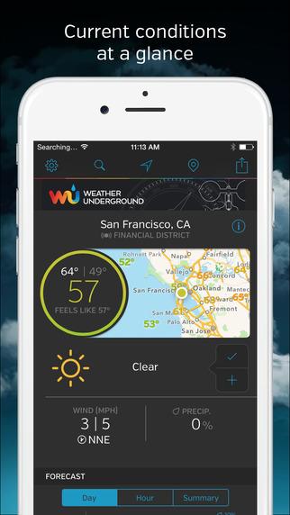 Weather Underground: Forecasts Interactive Radar and Weather Alerts
