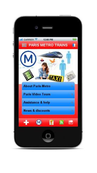 Paris metro - Maps offline Trains Eurostar videos GPS help...