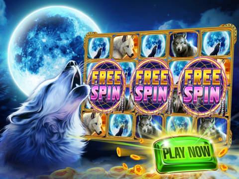 Wolf Bonus Casino - Free Vegas Slots Casino Gamesscreeshot 1