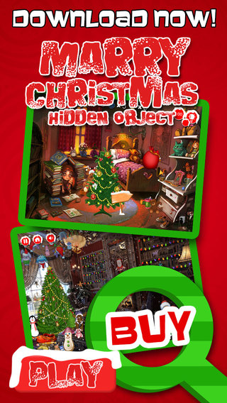 Merry Christmas Hidden Objects - Pro