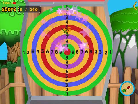 Animals of the jungle and darts for kids vip iPad Screenshot 3