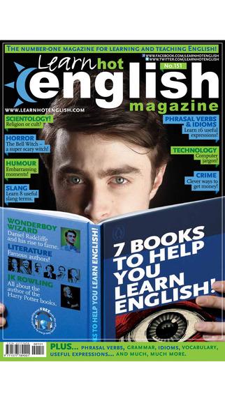 Learn Hot English Magazine