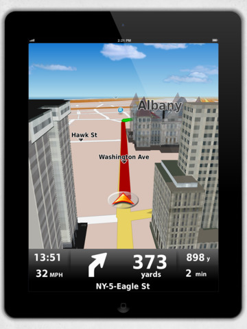 Dynavix USA GPS Navigation screenshot
