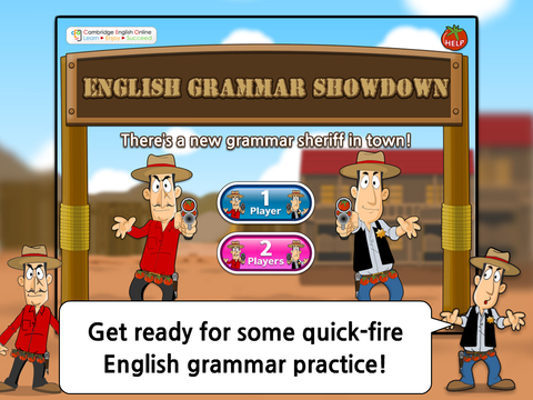 English Grammar Showdown HD