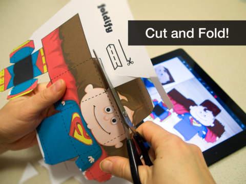 Screenshot #1 for Foldify - Create, Print, Fold!