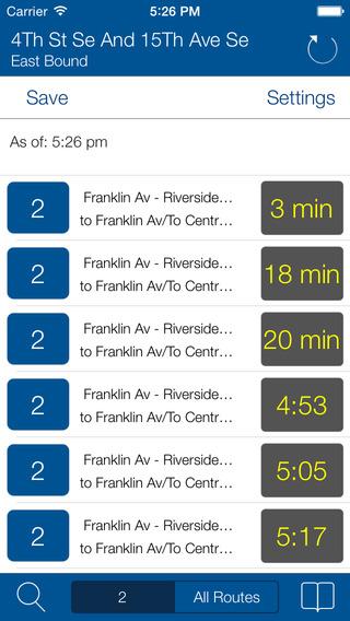 Transit Stop: Minneapolis Metro Transit Tracker