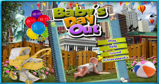 Baby's Day Out - Free Hidden Object Games