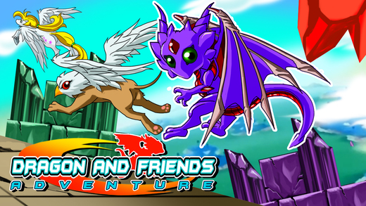 Cute Magical Creatures - Dragon Unicorn and Friends Fantasy Adventure FREE