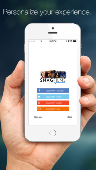 SnagFilms: The Free Movies TV Show App