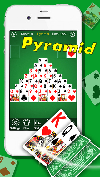 A¹ Pyramid Solitaire -Funny Poker As Spider Klondike FreeCell Mahjong