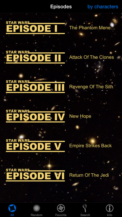Star Wars Quotes iPhone Screenshot 1