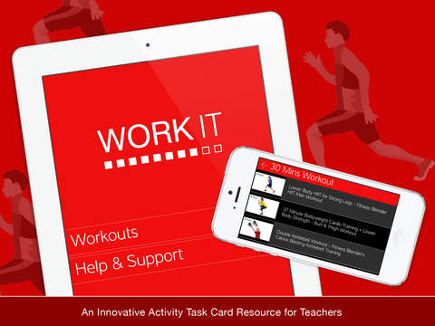 Work It HD - Circuit Exercise Videos Task Cards