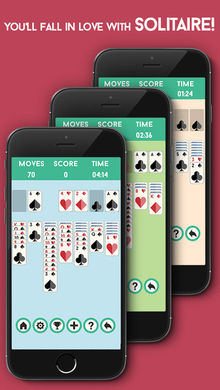 Solitaire Klondike - Train your brain