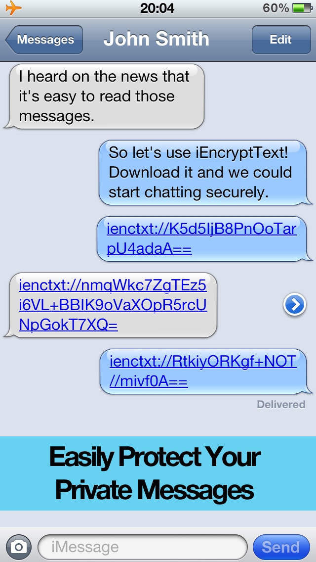 iEncryptText Pro – Protect your private messages (SMS ...