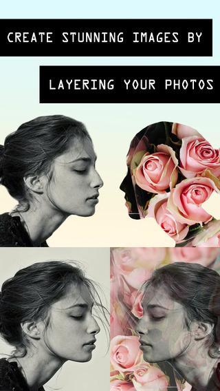 Layered Pro - Photo Mask Split Blend Editor for Instagram