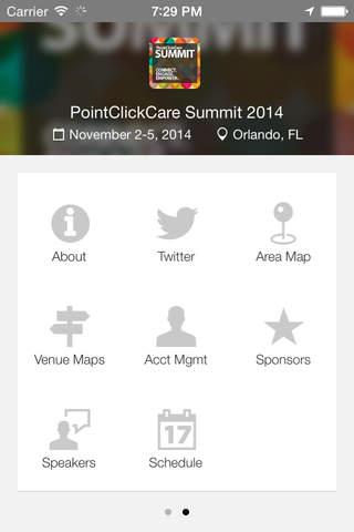 PointClickCare Summit 2014 screenshot 2