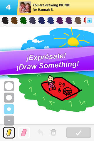 Draw Something screenshot 1
