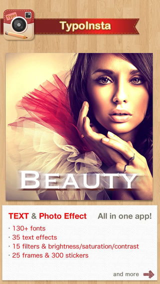 Text for Instagram photo - TypoInsta Effect for Text Photo and Texting