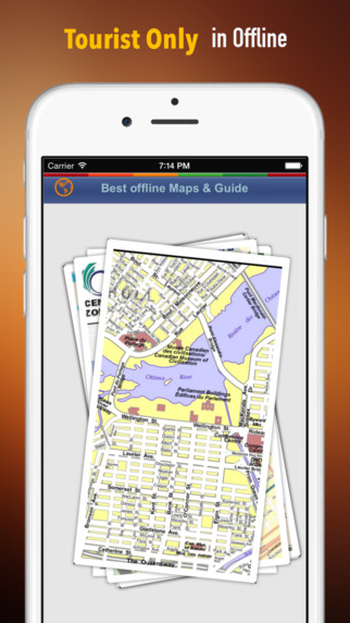 Ottawa Tour Guide: Best Offline Maps with Street View and Emergency Help Info