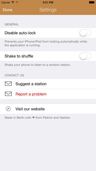 Greek Radio iPhone Screenshot 4
