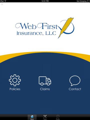【免費商業App】WebFirst Insurance HD-APP點子
