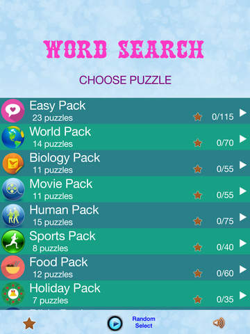 Screenshots of Word Search - Find Crossword Challenged  Puzzles for iPad