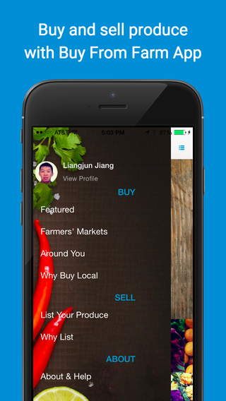 Buy From Farm - buy and sell produce around you