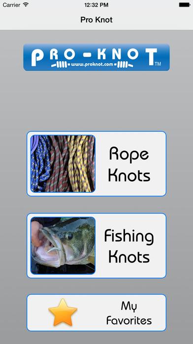 Pro-Knot iPhone Screenshot 1