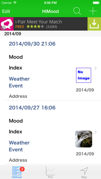 HiMood - the simple and easy mood logger