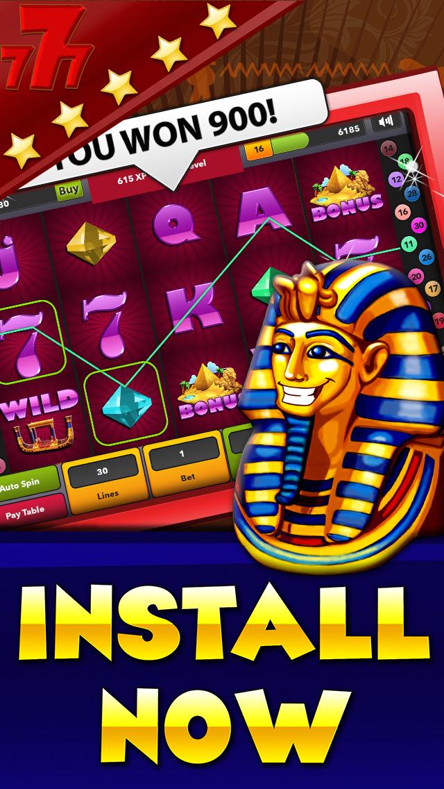 slots pharaohs way coins