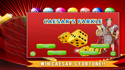 Caesar Farkle PRO - Play 10000 Zilk Dice Game
