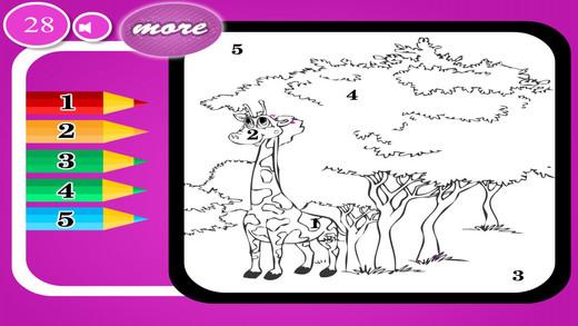 Fun Giraffe - Puzzle Game
