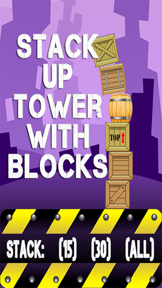 Stack Up Tower With Blocks