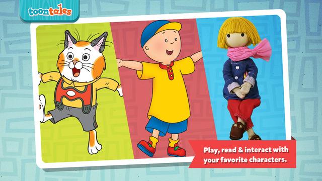 Toontales - Preschool reading adventures and activities