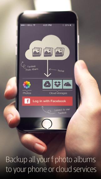 PikUp Pro - Backup Social Photo