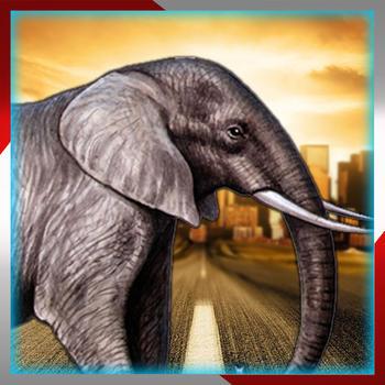 Elephant Traffic Safari:Collect coins and enjoy this adventure run LOGO-APP點子