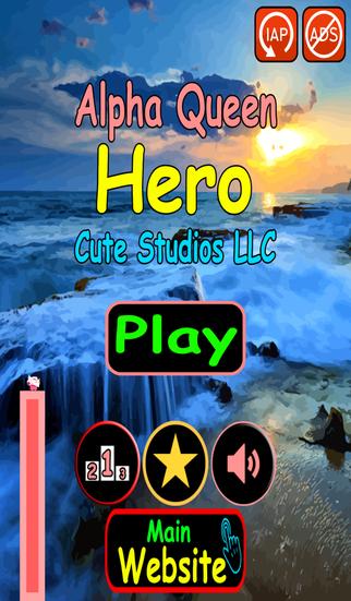 Alpha Queen Beach Stick Hero