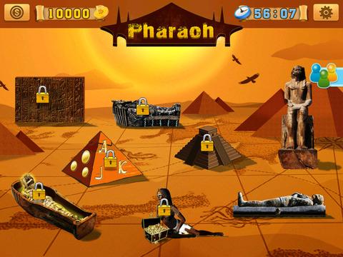 玩免費遊戲APP|下載Aztec Pharaoh Treasure Slots - Free Casino Game app不用錢|硬是要APP